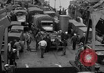 Image of American troops aboard LST English Channel, 1944, second 41 stock footage video 65675051822