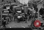 Image of American troops aboard LST English Channel, 1944, second 42 stock footage video 65675051822