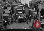 Image of American troops aboard LST English Channel, 1944, second 43 stock footage video 65675051822