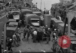 Image of American troops aboard LST English Channel, 1944, second 46 stock footage video 65675051822