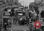 Image of American troops aboard LST English Channel, 1944, second 47 stock footage video 65675051822
