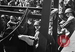 Image of American troops aboard LST English Channel, 1944, second 13 stock footage video 65675051823