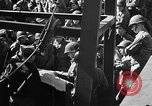 Image of American troops aboard LST English Channel, 1944, second 14 stock footage video 65675051823