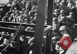 Image of American troops aboard LST English Channel, 1944, second 19 stock footage video 65675051823