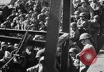 Image of American troops aboard LST English Channel, 1944, second 21 stock footage video 65675051823