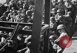Image of American troops aboard LST English Channel, 1944, second 22 stock footage video 65675051823