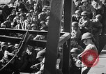 Image of American troops aboard LST English Channel, 1944, second 23 stock footage video 65675051823