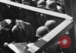 Image of American troops aboard LST English Channel, 1944, second 26 stock footage video 65675051823