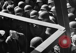 Image of American troops aboard LST English Channel, 1944, second 27 stock footage video 65675051823