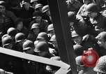 Image of American troops aboard LST English Channel, 1944, second 28 stock footage video 65675051823