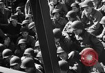 Image of American troops aboard LST English Channel, 1944, second 29 stock footage video 65675051823