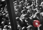 Image of American troops aboard LST English Channel, 1944, second 30 stock footage video 65675051823