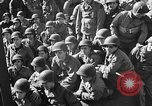 Image of American troops aboard LST English Channel, 1944, second 32 stock footage video 65675051823