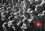 Image of American troops aboard LST English Channel, 1944, second 33 stock footage video 65675051823