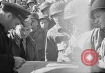 Image of American troops aboard LST English Channel, 1944, second 34 stock footage video 65675051823