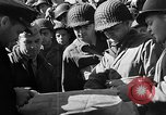 Image of American troops aboard LST English Channel, 1944, second 36 stock footage video 65675051823