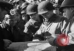 Image of American troops aboard LST English Channel, 1944, second 38 stock footage video 65675051823