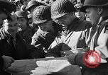 Image of American troops aboard LST English Channel, 1944, second 39 stock footage video 65675051823