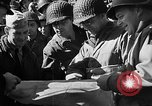 Image of American troops aboard LST English Channel, 1944, second 41 stock footage video 65675051823