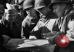 Image of American troops aboard LST English Channel, 1944, second 42 stock footage video 65675051823