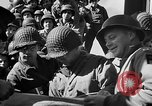 Image of American troops aboard LST English Channel, 1944, second 44 stock footage video 65675051823