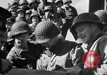 Image of American troops aboard LST English Channel, 1944, second 45 stock footage video 65675051823