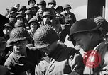 Image of American troops aboard LST English Channel, 1944, second 47 stock footage video 65675051823
