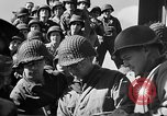 Image of American troops aboard LST English Channel, 1944, second 48 stock footage video 65675051823