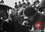 Image of American troops aboard LST English Channel, 1944, second 53 stock footage video 65675051823