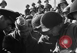 Image of American troops aboard LST English Channel, 1944, second 55 stock footage video 65675051823