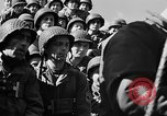 Image of American troops aboard LST English Channel, 1944, second 56 stock footage video 65675051823