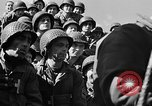Image of American troops aboard LST English Channel, 1944, second 57 stock footage video 65675051823