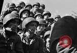 Image of American troops aboard LST English Channel, 1944, second 58 stock footage video 65675051823