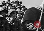 Image of American troops aboard LST English Channel, 1944, second 59 stock footage video 65675051823