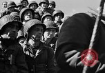 Image of American troops aboard LST English Channel, 1944, second 60 stock footage video 65675051823