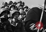 Image of American troops aboard LST English Channel, 1944, second 61 stock footage video 65675051823