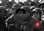 Image of American troops aboard LST English Channel, 1944, second 62 stock footage video 65675051823