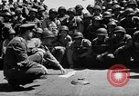 Image of Lieutenant Ralph Adams aboard LST English Channel, 1944, second 18 stock footage video 65675051825