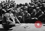 Image of Lieutenant Ralph Adams aboard LST English Channel, 1944, second 24 stock footage video 65675051825