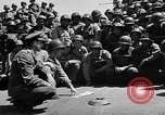 Image of Lieutenant Ralph Adams aboard LST English Channel, 1944, second 26 stock footage video 65675051825