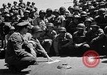 Image of Lieutenant Ralph Adams aboard LST English Channel, 1944, second 27 stock footage video 65675051825