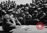 Image of Lieutenant Ralph Adams aboard LST English Channel, 1944, second 28 stock footage video 65675051825