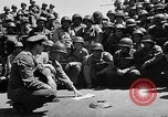 Image of Lieutenant Ralph Adams aboard LST English Channel, 1944, second 29 stock footage video 65675051825