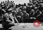 Image of Lieutenant Ralph Adams aboard LST English Channel, 1944, second 30 stock footage video 65675051825