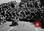 Image of Lieutenant Ralph Adams aboard LST English Channel, 1944, second 33 stock footage video 65675051825