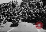Image of Lieutenant Ralph Adams aboard LST English Channel, 1944, second 35 stock footage video 65675051825