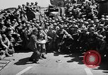Image of Lieutenant Ralph Adams aboard LST English Channel, 1944, second 36 stock footage video 65675051825