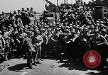 Image of Lieutenant Ralph Adams aboard LST English Channel, 1944, second 39 stock footage video 65675051825