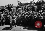 Image of Lieutenant Ralph Adams aboard LST English Channel, 1944, second 42 stock footage video 65675051825