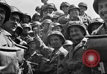 Image of Lieutenant Ralph Adams aboard LST English Channel, 1944, second 49 stock footage video 65675051825